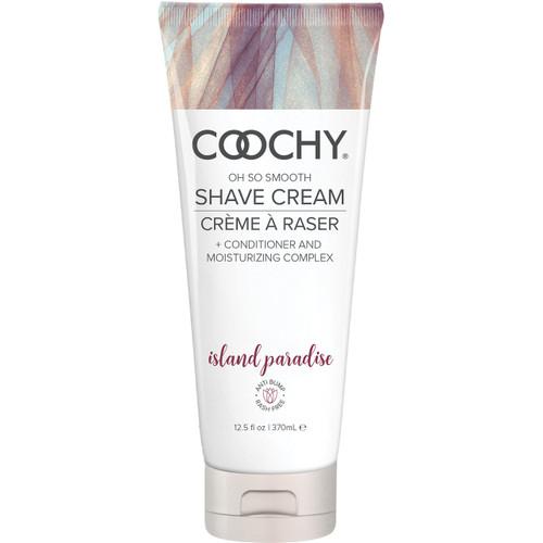 COOCHY Oh So Smooth Shave Cream - Island Paradise 12.5 oz (370 mL)