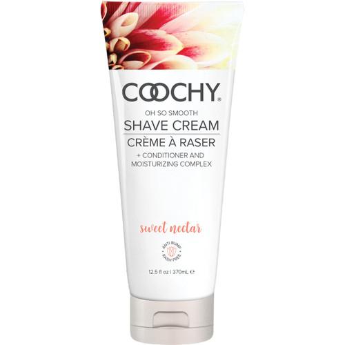 COOCHY Oh So Smooth Shave Cream - Sweet Nectar 12.5 oz (370 mL)