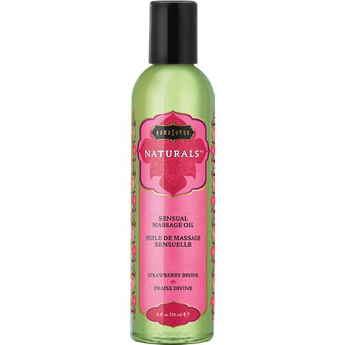 Kama Sutra Naturals Massage Oils Strawberry Dreams 8 fl oz