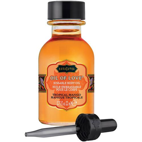 Kama Sutra Oil Of Love With Applicator Tropical Mango 0.75 fl oz