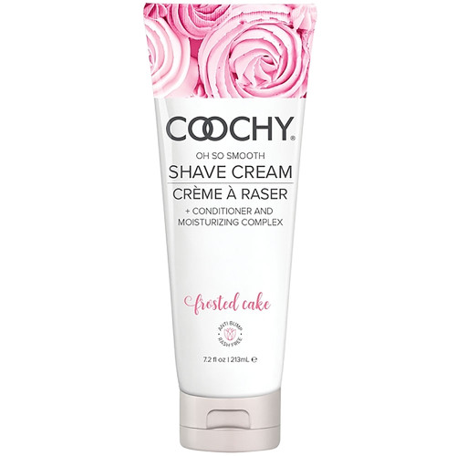 COOCHY Oh So Smooth Shave Cream - Frosted Cake 7.2 oz (213 mL)