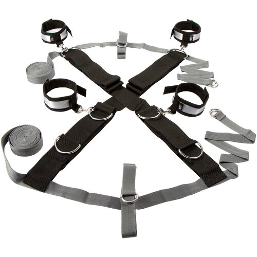 Fifty Shades of Grey Keep Still Over the Bed Cross Restraint