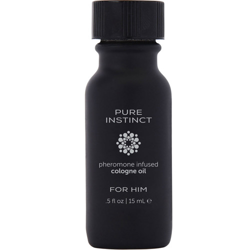 Pure Instinct Black - Pheromone Cologne Oil .5oz