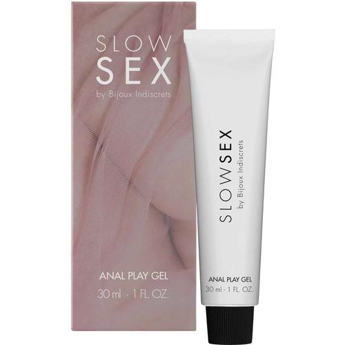 Slow Sex Anal Play Gel By Bijoux Indiscrets - 1 oz