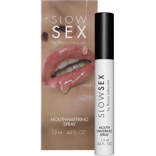 Slow Sex Mouthwatering Spray By Bijoux Indiscrets - .44 oz