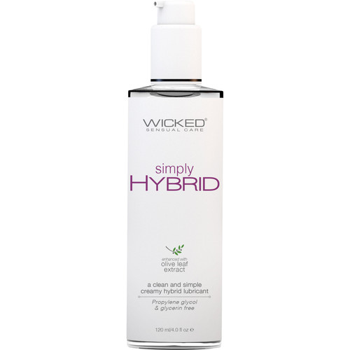Simply Hybrid Personal Lubricant With Olive Leaf Extract 4 fl oz