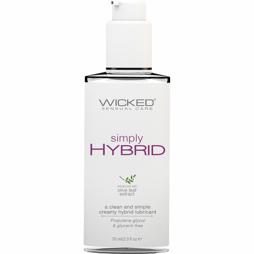Simply Hybrid Personal Lubricant With Olive Leaf Extract 2.3 fl oz