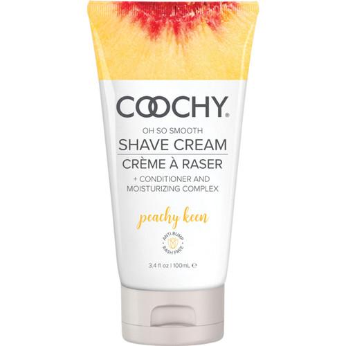 COOCHY Oh So Smooth Shave Cream - Peachy Keen 3.4 oz (100 mL)