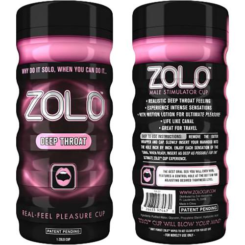 ZOLO Deep Throat Cup Penis Masturbator