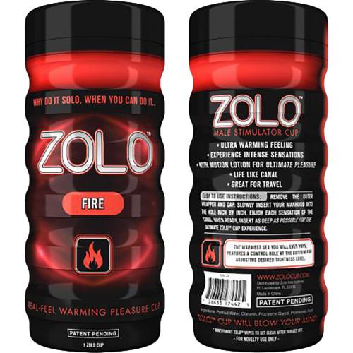 ZOLO Fire Cup Penis Masturbator