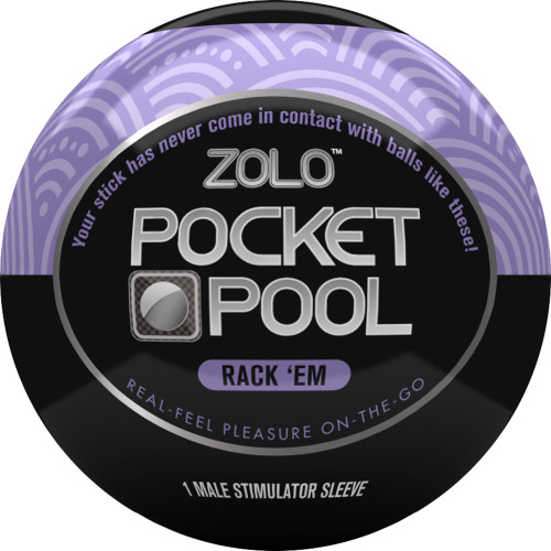 ZOLO Pocket Pool Rack Em Penis Masturbator