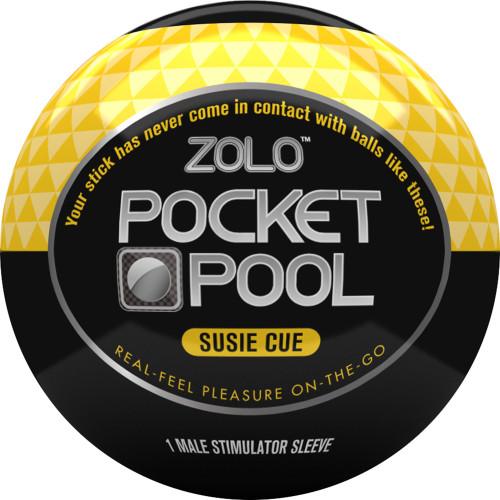 ZOLO Pocket Pool Susie Cue Penis Masturbator