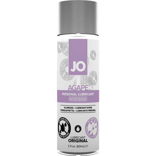 JO Agapé Original Water Based Personal Lubricant 2 fl oz