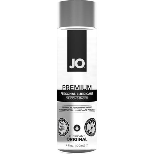 JO Premium Original Silicone Personal Lubricant 4 fl oz