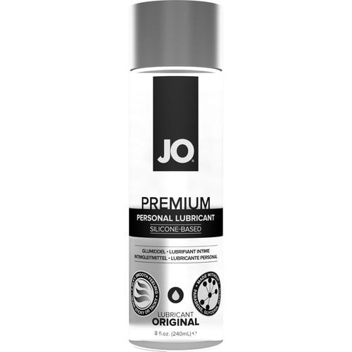 JO Premium Original Silicone Personal Lubricant 8 fl oz