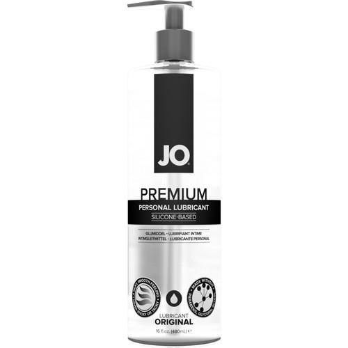 JO Premium Original Silicone Personal Lubricant 16 fl oz