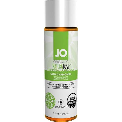 JO Naturalove USDA Organic Water Based Personal Lubricant With Chamomile 2 fl oz