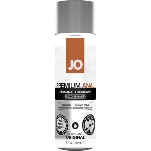JO Premium Anal Original Silicone Personal Lubricant 2 fl oz