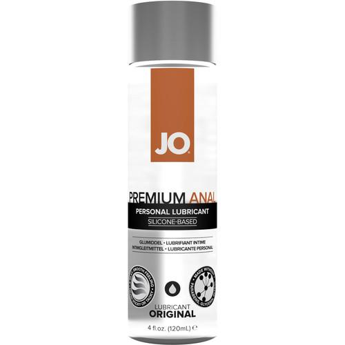 JO Premium Anal Original Silicone Personal Lubricant 4 fl oz