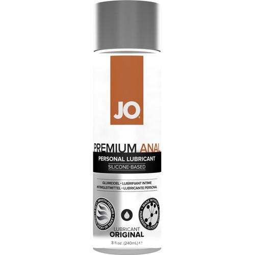 JO Premium Anal Original Silicone Personal Lubricant 8 fl oz