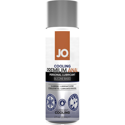 JO Premium Anal Cooling Silicone Personal Lubricant 2 fl oz