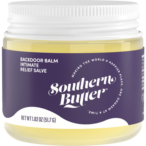 Southern Butter Backdoor Balm Intimate Relief Salve 1.82 oz Jar
