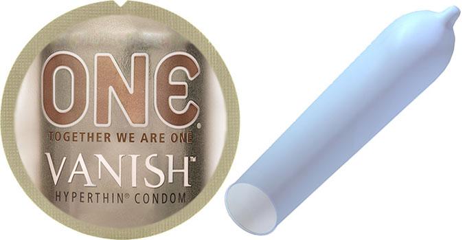 ONE Vanish Hyperthin Condoms