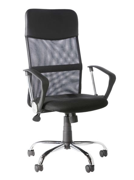 ORLANDO BLACK MESH CHAIR