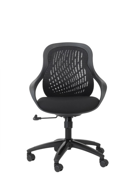 CROFT BLACK MESH CHAIR