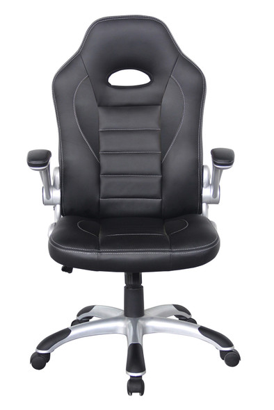 TALLADEGA BLACK RACING CHAIR