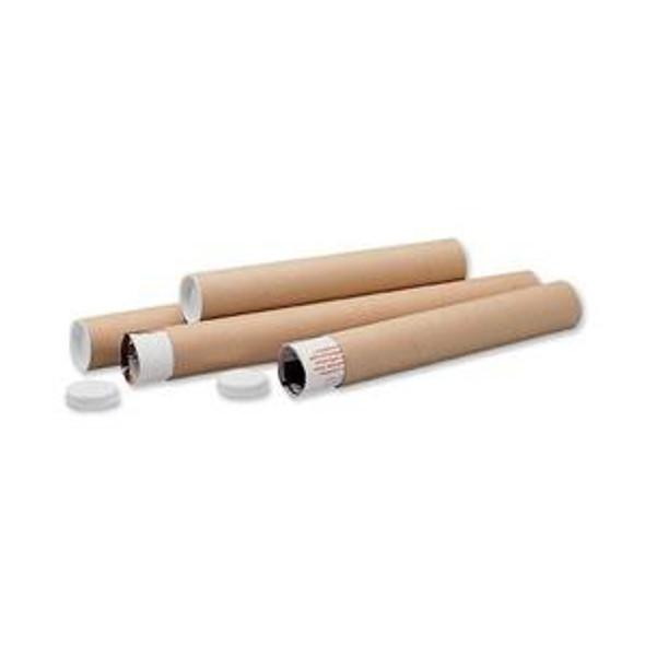 Postal Tube 720 x 100mm Brown (Pack 1)