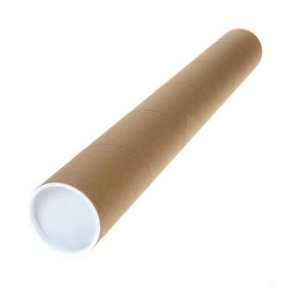 Postal Tube 50mm Diameter x 762mm (Pack 1)