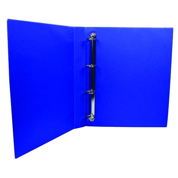 Q-CONNECT PRESENTATION 25MM 4D RING BINDER A4 BLUE