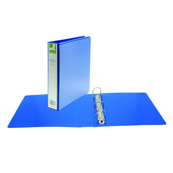 Q-CONNECT PRESENTATION 40MM 4D RING BINDER A4 BLUE