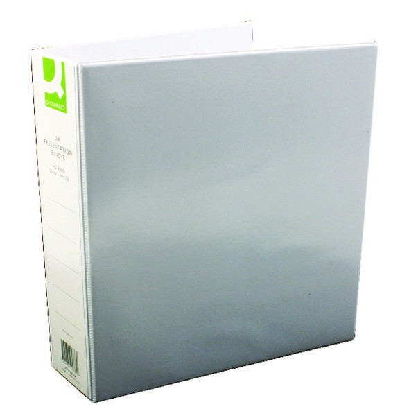 Q-CONNECT PRESENTATION 50MM 4D RING BINDER A4 WHITE