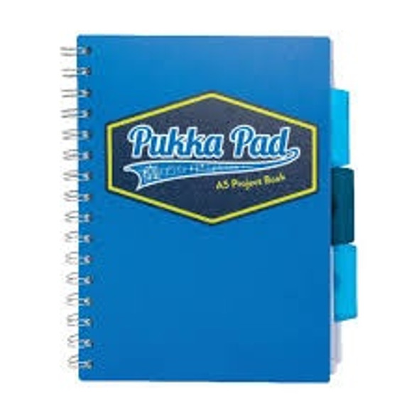 PUKKA VISION PROJECT BOOK A4 BLUE