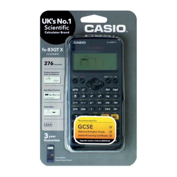 CASIO SCIENTIFIC CALC FX-83GT