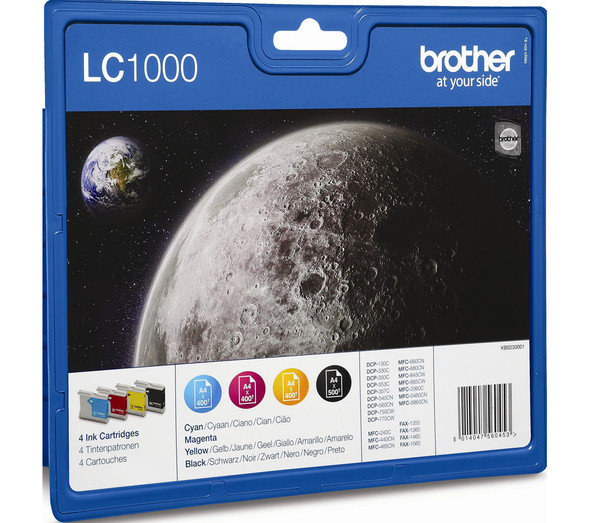 BROTHER LC1000 MULTIPACK B/C/M/Y