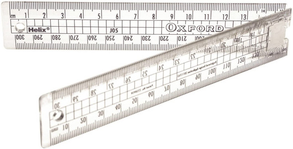 30CM FOLDING RULE- OXFORD