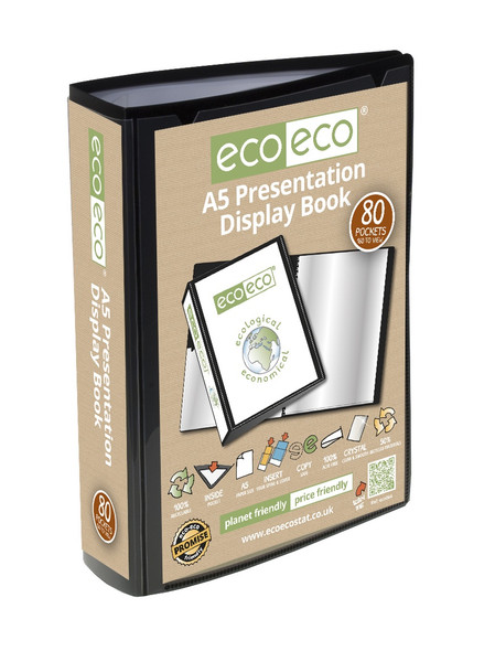 ECO-ECO A5 80 POCKET PRESENTATION DISPLAY BOOK
