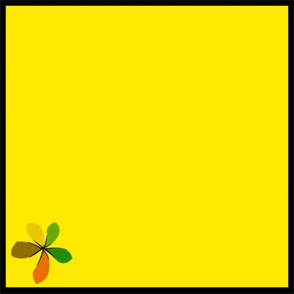 PAPAGO COLOURED PAPER 80GSM INTEN YELLOW (PACK OF 50)
