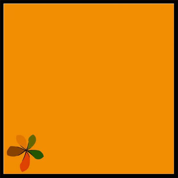PAPAGO COLOURED PAPER 80GSM TANGERINE (PACK OF 50)