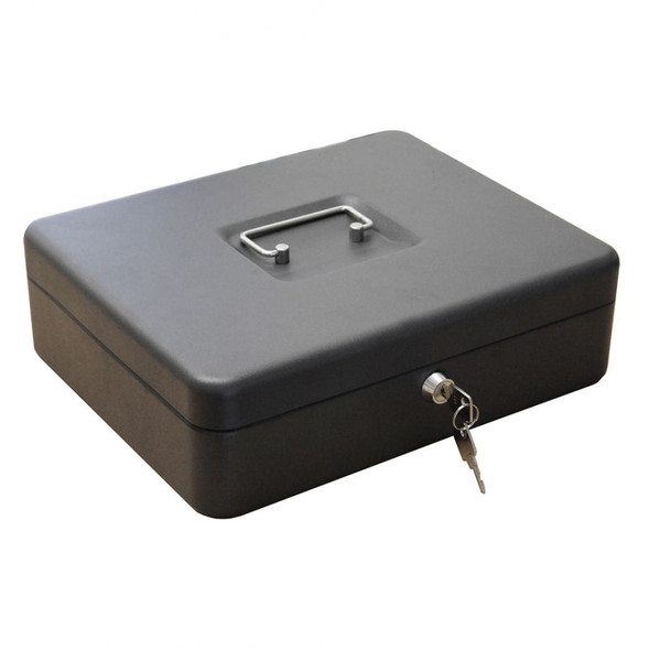 Cathedral Cash Box, 12 Inch - Black