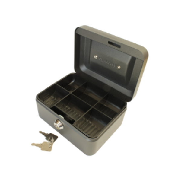 Cathedral Cash Box, 6 Inch - Black
