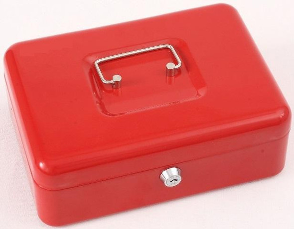 Cathedral Cash Box, 10 Inch - Red