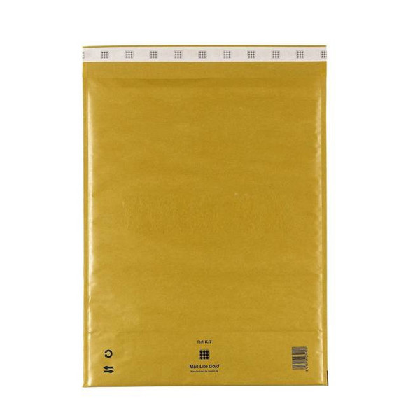 Sealed Air Mail Lite Envelope K/7 Gold - Single