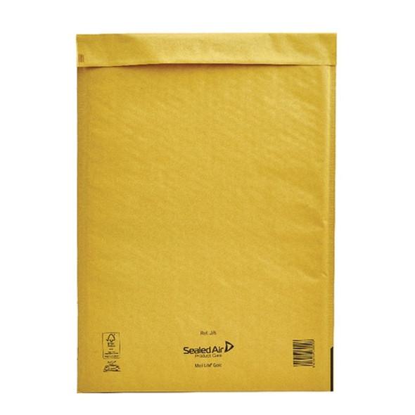 Sealed Air Mail Lite Envelope J/6 Gold - Single