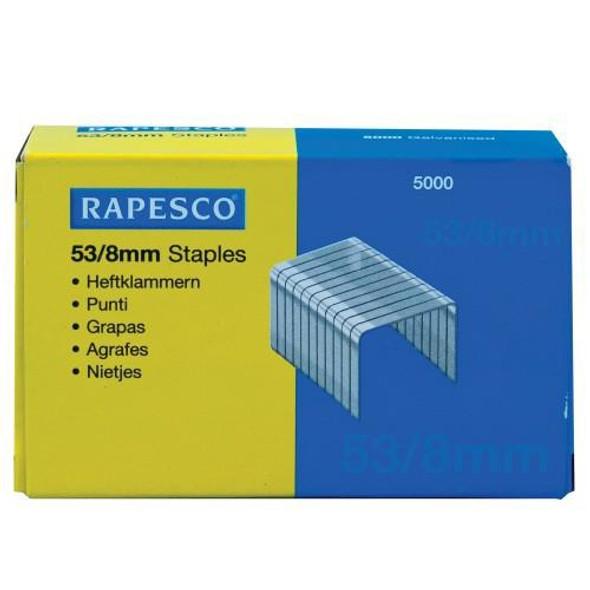 RAPESCO STAPLES 53/8 (PACK OF 5000)