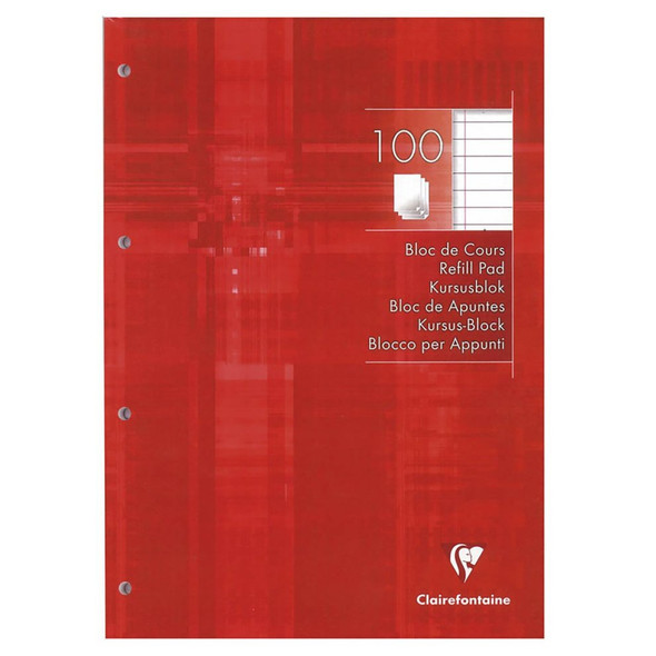 Clairefontaine Refill Pad, Lined & Margin - Single