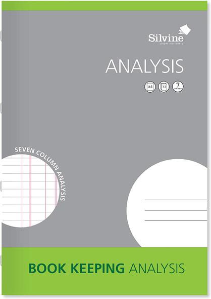Silvine A4 Book Keeping Range - Analysis